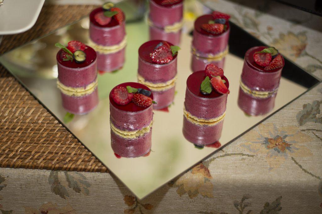 HC berry cheesecake
